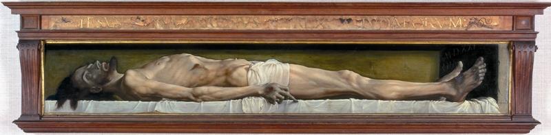 Les Démons, © Hans Holbein, Le Christ mort